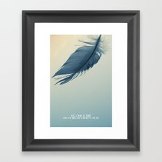no one is free Framed Art Print