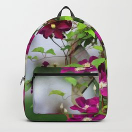 Royal Clematis Backpack