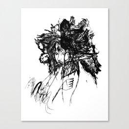 FlightMinded B&W Canvas Print