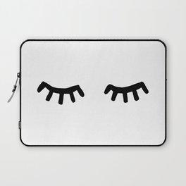Tired Eyes Laptop Sleeve