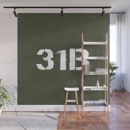 31B Military Police Wall Mural