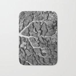 Greyscale Cabbage 2 Bath Mat
