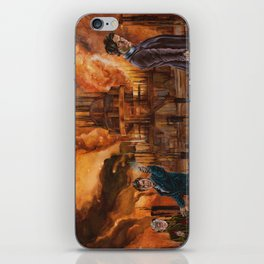 Saviour of Gallifrey iPhone Skin