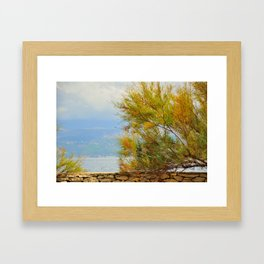 Close to the sea Framed Art Print