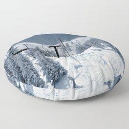 Mammoth Mountain: Chair 12 Floor Pillow