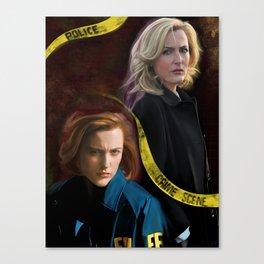 Scully x Stella Canvas Print