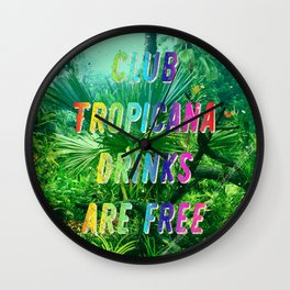 Club Tropicana #2 – A Hell Songbook Edition Wall Clock