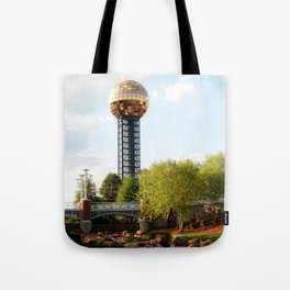 Knoxville Sunsphere 3 Tote Bag