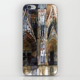 Koln cathedral's facade iPhone Skin