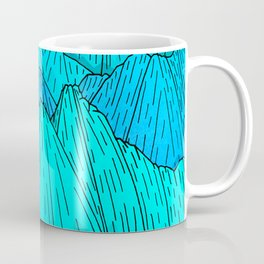 The Cool Blue Mounts Coffee Mug