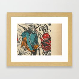 """Ambush!"" Framed Art Print"