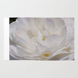 Simply White & Beautiful Flower by Aloha Kea Photography Rug