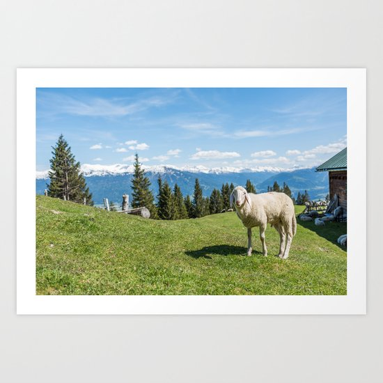 Me, the Sheeple?! Art Print