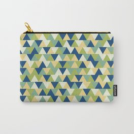 Rockpool Triangles Carry-All Pouch