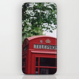 telephone boxes iPhone Skin