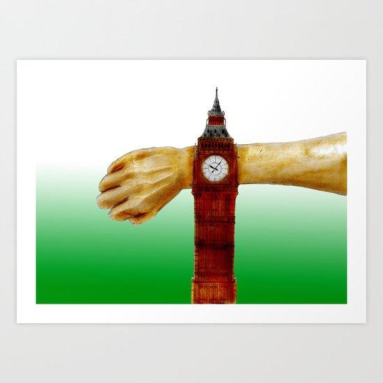 London Time Art Print