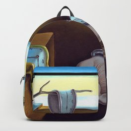 Salvador Dali The Persistence of Memory 1931 Artwork, Wall Art, Prints, Posters, Tshirts, Men, Women Backpack