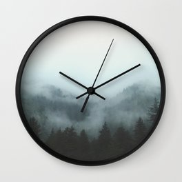 A Walk in the Forest Wall Clock