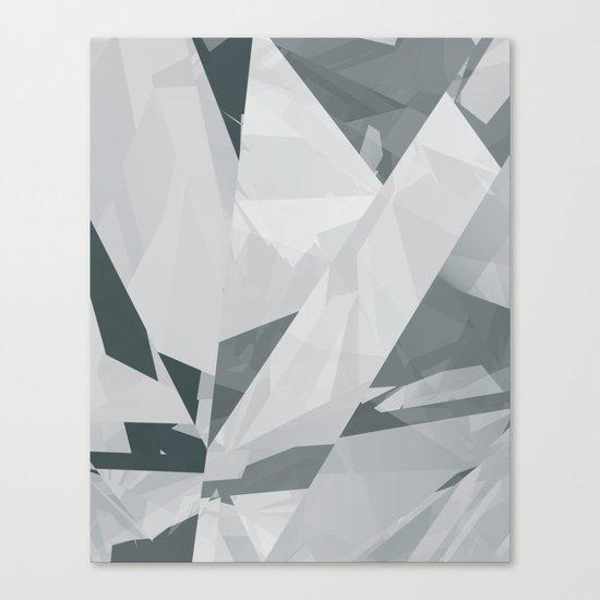 Ice cracks #1 Canvas Print