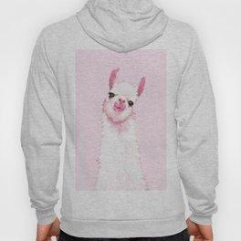 Llama Pink Hoody