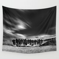 blues Wall Tapestries featuring Blues... by Guido Montañés