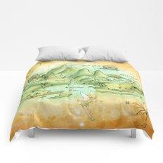 Neverland Map Comforters