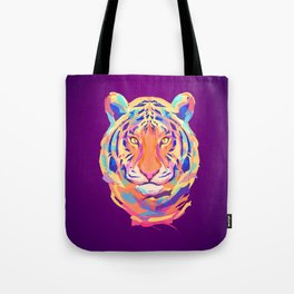 Neon tiger Tote Bag