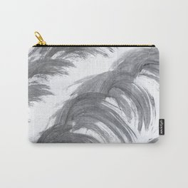 Shrimp, Abstract, White & Black Carry-All Pouch