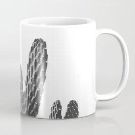 Cactus Photography Print {3 of 3} | B&W Succulent Plant Nature Western Desert Design Decor Coffee Mug