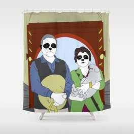 A Visit To The Forbidden City Shower Curtain