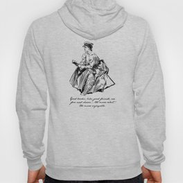 Lousia May Alcott - Good Books Hoody
