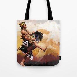 Horse braid (Kuda lumping) Tote Bag