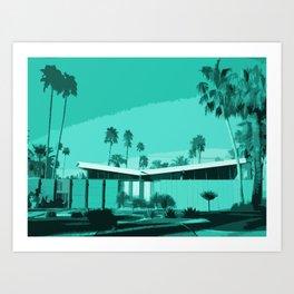 Twin Palms 3 Art Print
