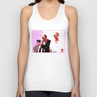 snk Tank Tops featuring SNK Broken Boys by rhymewithrachel