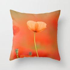 Two poppies 1873 Throw Pillow