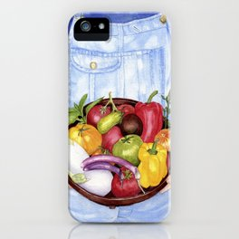 Fruits of Her Labour iPhone Case