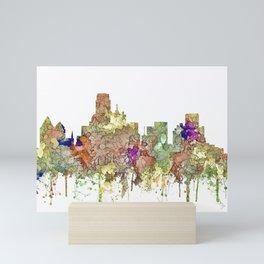 Dallas, Fort Worth Texas SG - Faded Glory Mini Art Print