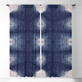 Indigo Tribe by Juul Blackout Curtain