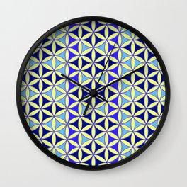 Flower of Life Pattern 4 Wall Clock