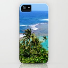 North Shore Kauai iPhone Case