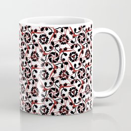 Frilly from the Black & White & Red All Over Collection Coffee Mug