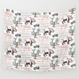 Royal Rhinoceros Wall Tapestry