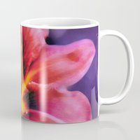 lily Mugs featuring  Lily. by Mary Berg