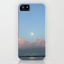 Falcon 9 in Flight iPhone Case