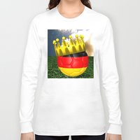 world cup Long Sleeve T-shirts featuring World Cup Champion 2014 by Littlebell