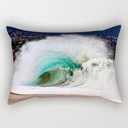 Wedge Flare - The Wedge Newport Beach CA Rectangular Pillow