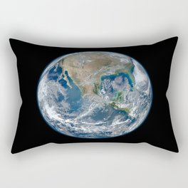 Planet Earth from Above Rectangular Pillow