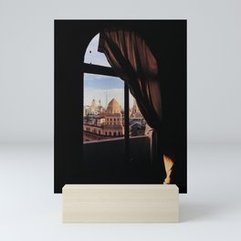 City view from my window in Buenos Aires Mini Art Print