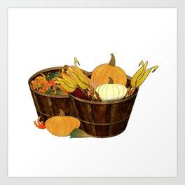 The Splendor of Autumn Art Print