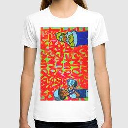 Crazy Young Artist T-shirt